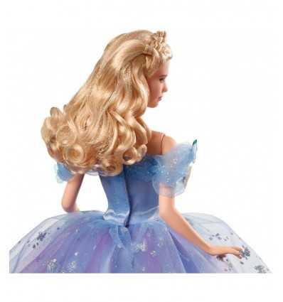 Personaggio Cenerentola con abito azzurro CGT56 Mattel-Futurartshop.com