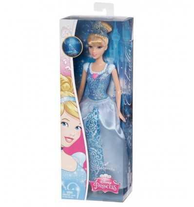 Bambola principessa scintillante cenerentola CFB82/CFB72 Mattel-Futurartshop.com