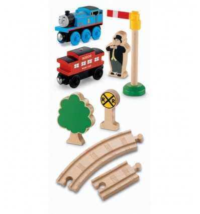 The Thomas wooden railway station Y5854 Mattel- Futurartshop.com