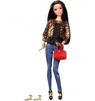 Barbie Style with spotted jacket and pants Jeans BLR55/CFM77 Mattel- Futurartshop.com