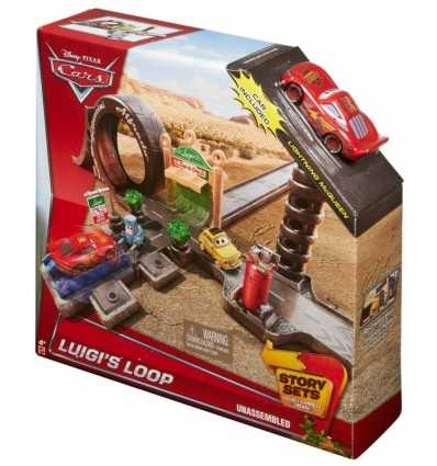 История автомобилей устанавливает Луиджи трек петля CDW65/CDW67 Mattel- Futurartshop.com
