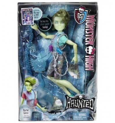 Monster hög doll S.O.S spöken Porter geiss CDC34/CGV19 Mattel- Futurartshop.com