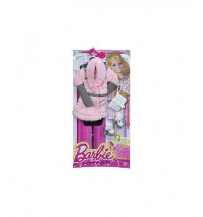 毛皮の華やかなバービー ピンクのドレスします。 CFX92/CFX95 Mattel- Futurartshop.com