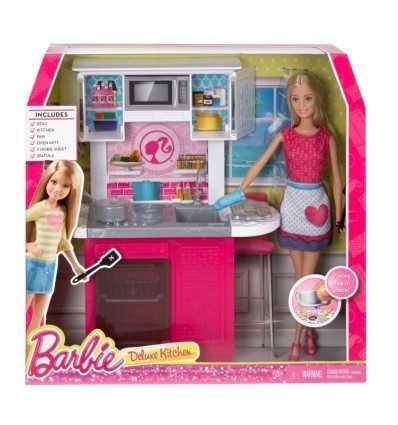 Cucina da sogno con Barbie CFB63/CFB62 Mattel-Futurartshop.com