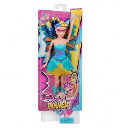 vestido princesa Barbie con el pelo azul y amarillo CDY65/CDY67 Mattel- Futurartshop.com
