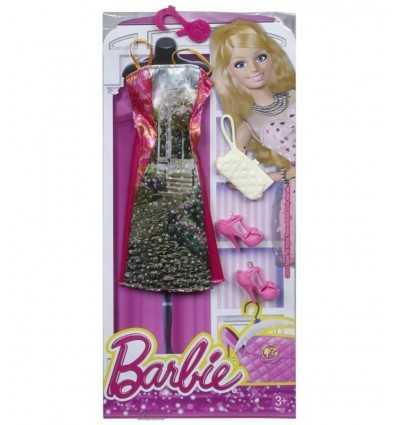 Look glamour de Barbie robe longue avec fantaisie CFX92/CFX99 Mattel- Futurartshop.com