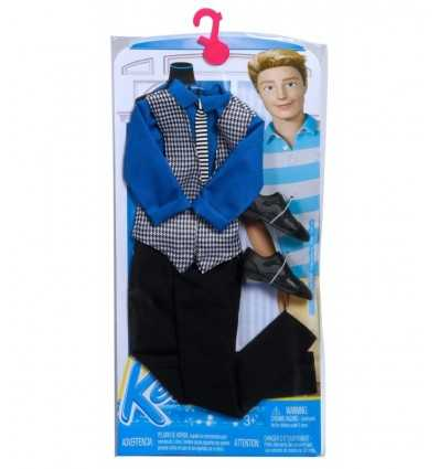 Кен моды клетчатой рубашке с черные брюки CFY02/CFY03 Mattel- Futurartshop.com