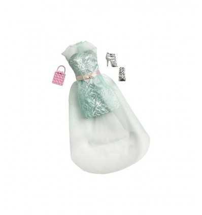 Glamouröse Barbie-grünes Kleid mit Schleier CFX92/CFX93 Mattel- Futurartshop.com