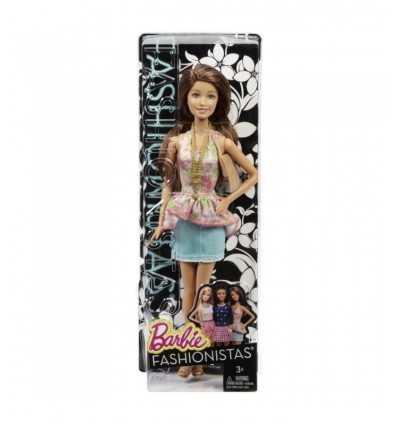 Muñeca Barbie con elegante falda top y denim BCN36/CFG14 Mattel- Futurartshop.com