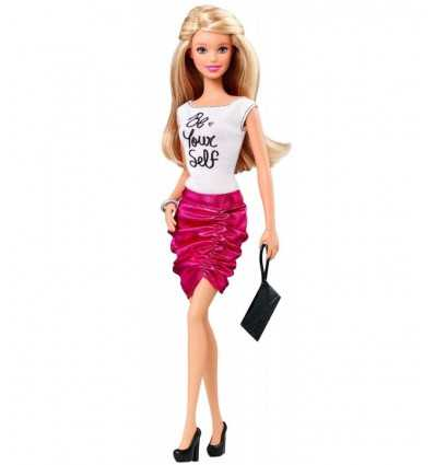 Барби модница с белого и фуксии платье BCN36/CFG12 Mattel- Futurartshop.com