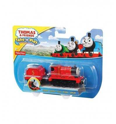 Thomas James caractère gros véhicules R8852/CBL85 Mattel- Futurartshop.com