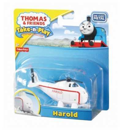 Thomas & véhicule personnage Harold T0929/R8858 Mattel- Futurartshop.com