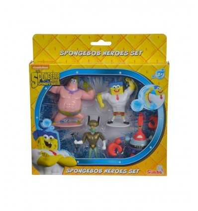 SpongeBob Super Hero tecken Set 4 109490527 Simba Toys- Futurartshop.com