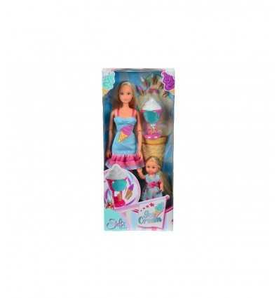Steffi Love crée des crèmes glacées avec Evi 105730476 Simba Toys- Futurartshop.com