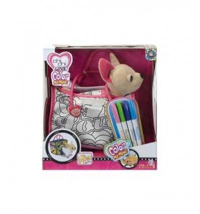 Chi Chi Love Chihuahua mit Tasche und Farben 105895299009 Simba Toys- Futurartshop.com