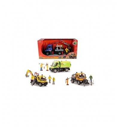 Unimog Road service vehicles 21 cm 3414492 Simba Toys- Futurartshop.com