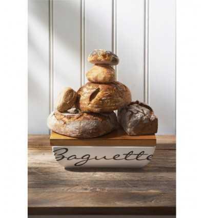 Keramiska bröd Baguette innehavare och mer skål 202810 Riviera maison- Futurartshop.com