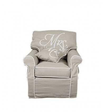 Mme Lady fauteuil chaise, linge 3223001 - Futurartshop.com