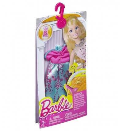 グリーンとフクシアのバービーの服を着てください。 CFX65/CFX67 Mattel- Futurartshop.com