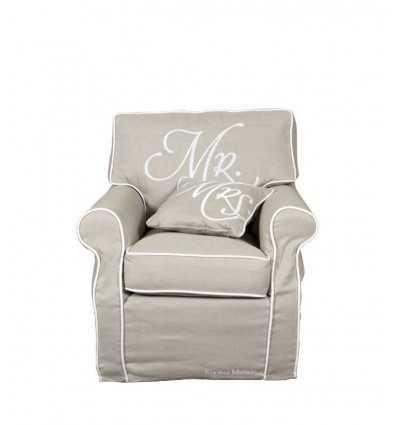 氏の椅子、氏の椅子、リネン 3222001 - Futurartshop.com