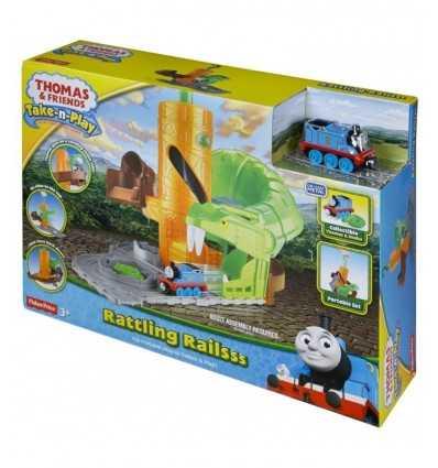 Pista Rattling Railsss Thomas CDM88 Mattel-Futurartshop.com