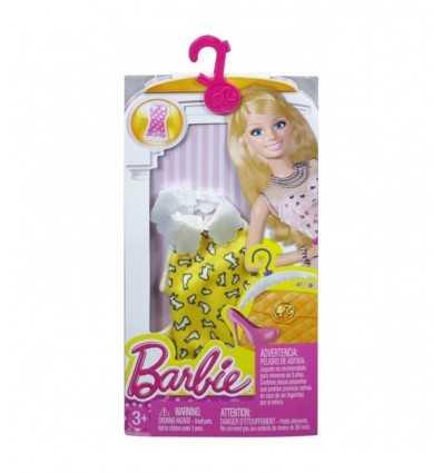 Barbie robes tube long jaune CFX65/CFX66 Mattel- Futurartshop.com