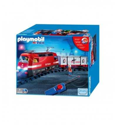 Freight train with radio-controlled lights 4010 Playmobil- Futurartshop.com