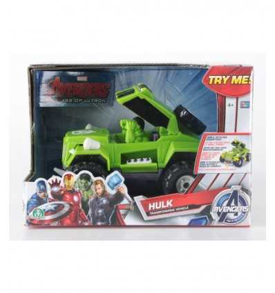 Konvertibla fordon med hulk Avengers GPZ20705/HUL Giochi Preziosi- Futurartshop.com