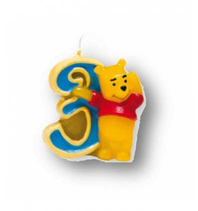 Winnie 3 nummer ljus 8219 - Futurartshop.com