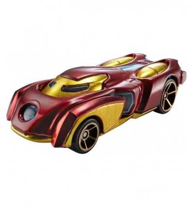Hot wheels machine Iron Man character BDM71/BDM74 Mattel- Futurartshop.com