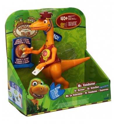 Dino trains Mr Conductor Troodon personaggio interattivo GG02010/LC5312M Grandi giochi-Futurartshop.com