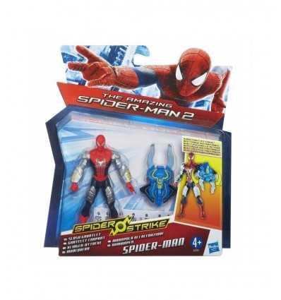 personaggio spiderman argento con manopola di lacerazione A5700E270/A5701 Hasbro-Futurartshop.com