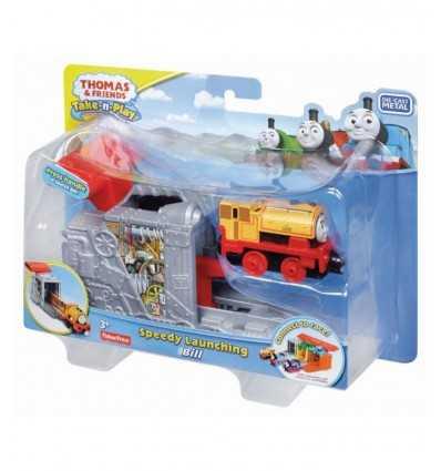 med trenino Bill lokomotiv supersnabb CFC55/CFC52 Mattel- Futurartshop.com