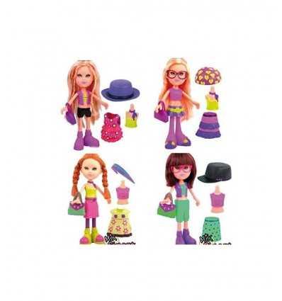 simpatyx mélanger 4 modèles de poupées GG00160 Grandi giochi- Futurartshop.com
