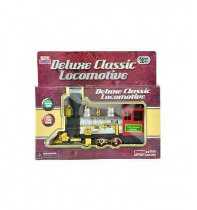 Klasyczny lokomotywa z światła i dźwięki 390437 Grandi giochi- Futurartshop.com