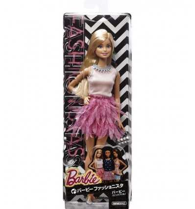 Barbie fashionistas with short pink dress BCN36/CFG13 Mattel- Futurartshop.com