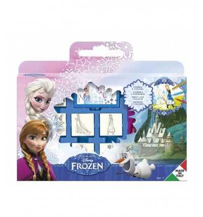 Frozen Briefcase with 7 stamps RAV-7883 Grandi giochi- Futurartshop.com