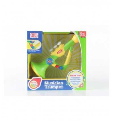 Trompete Musik mit Licht 397436 Grandi giochi- Futurartshop.com