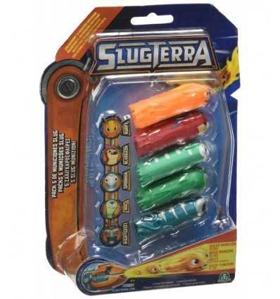 Slugterra Schnecke Munition Kugel 5 Stück Sortiment 2 GPZ83433 Giochi Preziosi- Futurartshop.com