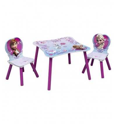 frozen stół z krzesłami kształcie 2 HDG89498 Giochi Preziosi- Futurartshop.com