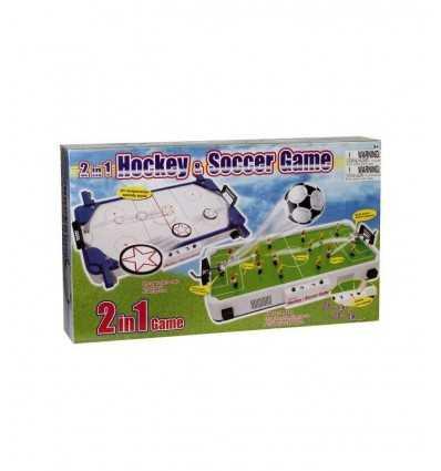 set 2 in 1 soccer e hockey HDG30186 Giochi Preziosi-Futurartshop.com
