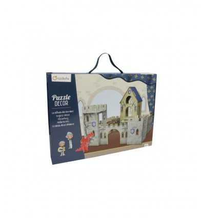 3D pussel castello dei cavalieri PU0030 Avenue Mandarine- Futurartshop.com