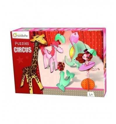 3D puzzle fille du Cirque 42767O - Futurartshop.com