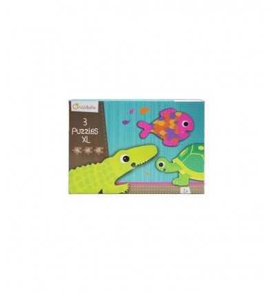 3 Tier puzzle Formen 42700O Avenue Mandarine- Futurartshop.com