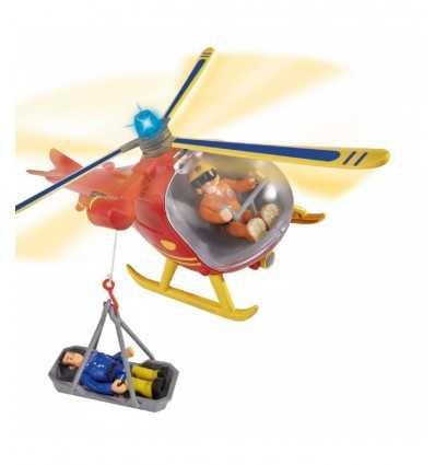 Sam el helicóptero de rescate de bomberos NCR18262 Giochi Preziosi- Futurartshop.com