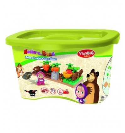 Playset Masha 31 garden bricks 800057091 Simba Toys- Futurartshop.com