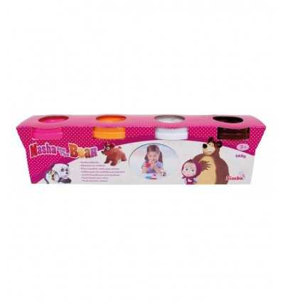Masha y el oso modelado pasta 109302509 Simba Toys- Futurartshop.com