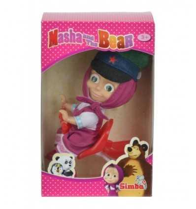 Masha poupée avec tricycle 109301684 Simba Toys- Futurartshop.com