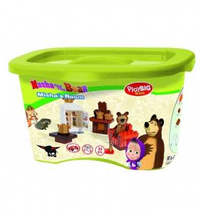 35 Ziegel Zimmer Playset Masha und der Bär 800057093 Simba Toys- Futurartshop.com