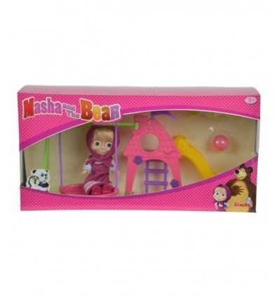 personaggio masha con parco giochi 109301816 Simba Toys-Futurartshop.com